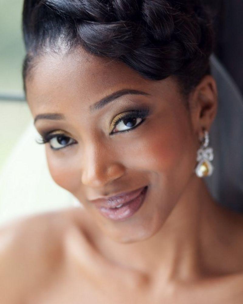 Extremamente Maquiagem para noivas negras: casamento de dia e de noite RG78