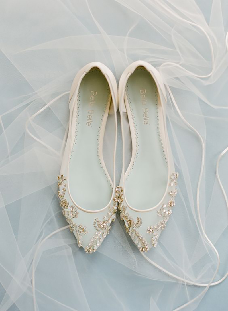 0317ba238 Sapatilha de noiva | Modelo une elegância e muito conforto!