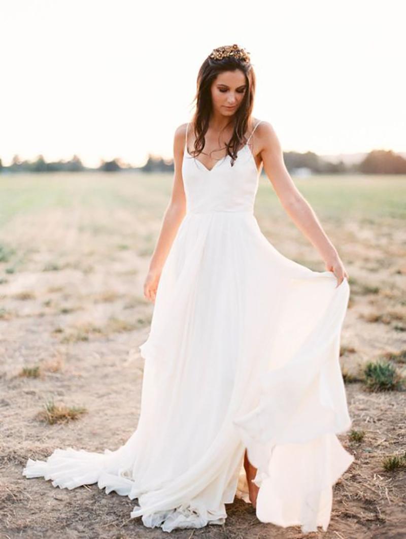 vestido de noiva simples
