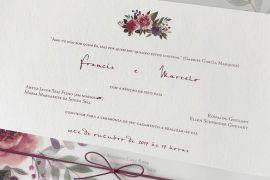 Como escolher o convite de casamento com aquarela