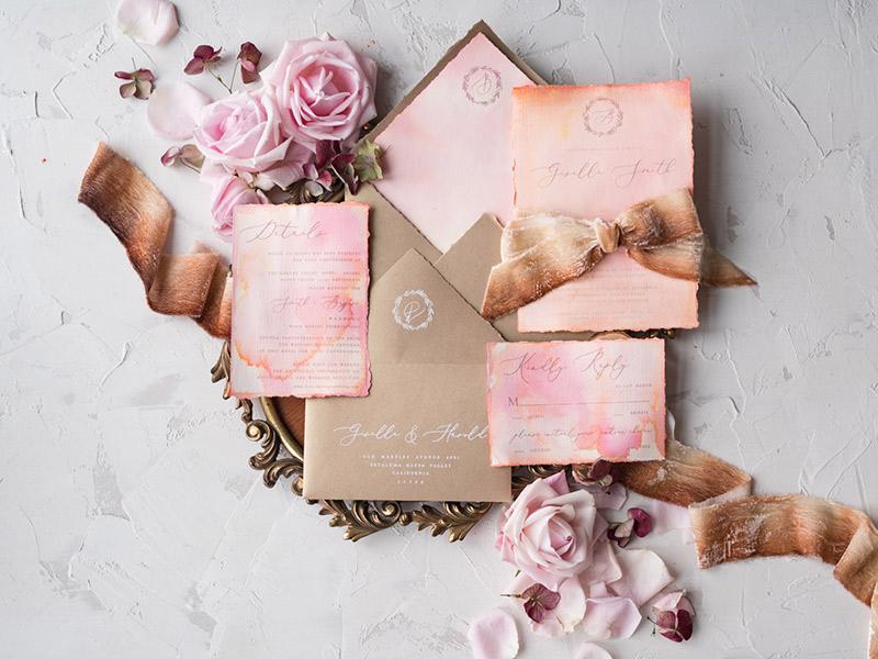 df24486cc03f57 Convite rústico de casamento | 10 modelos para se inspirar