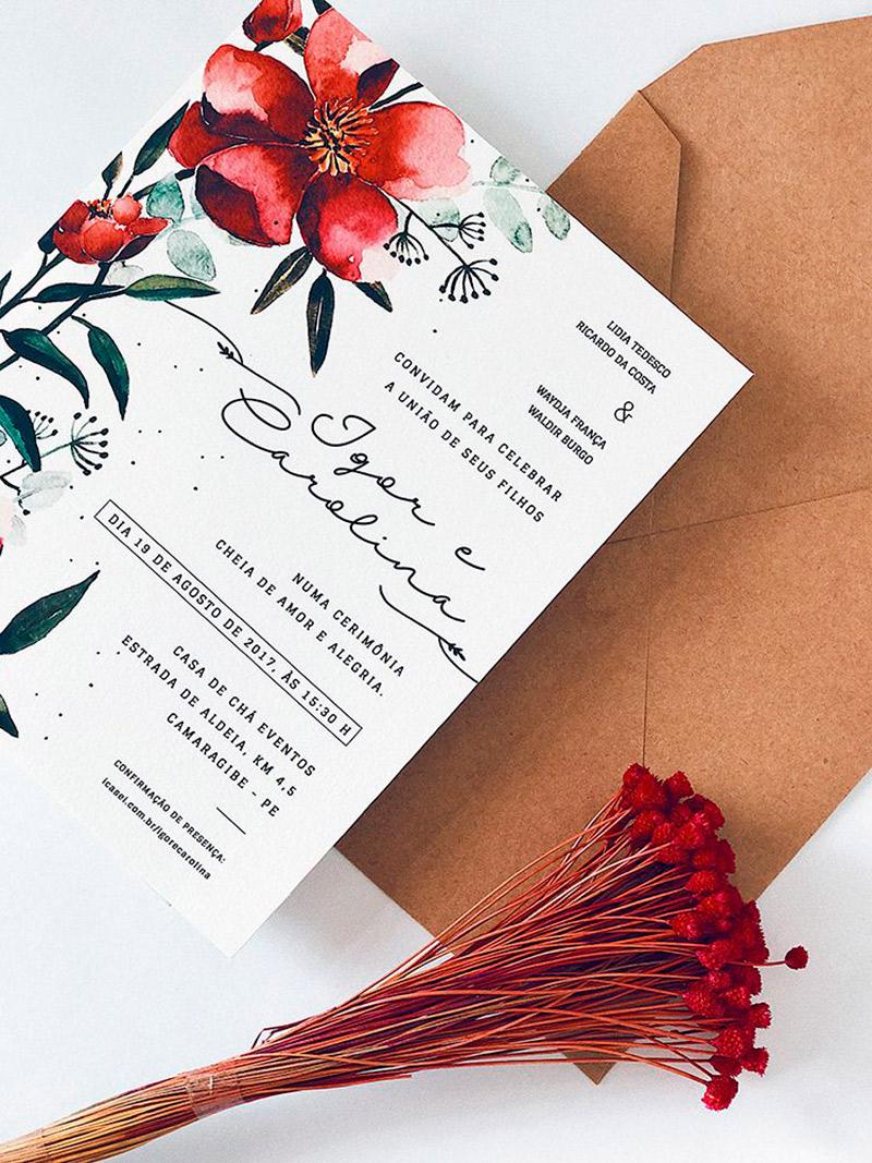 convite rústico de casamento 10 modelos para se inspirar
