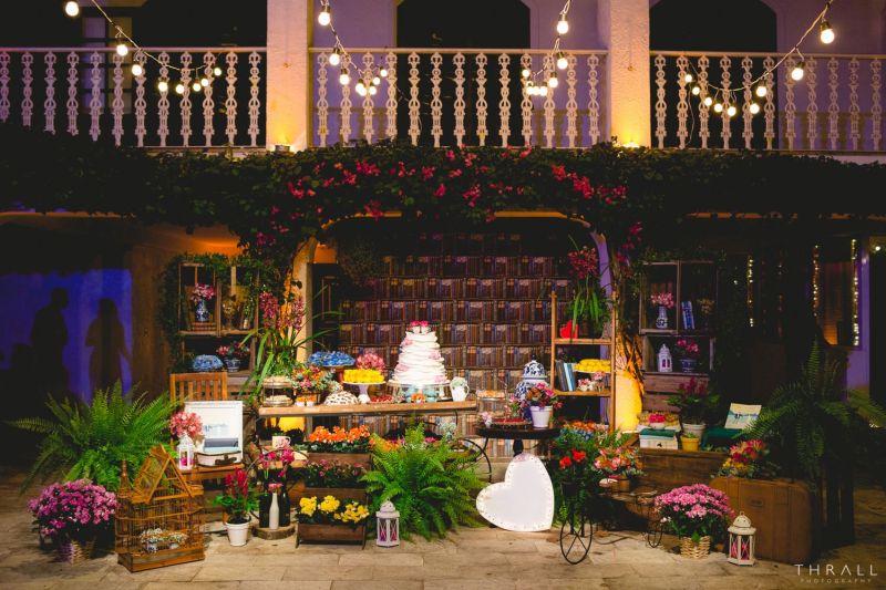 Dicas Incríveis Para Decoração Para Casamento Rústico à Noite