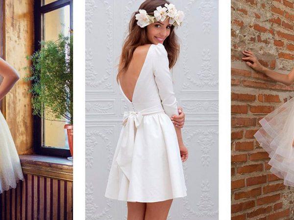 Vestido de noiva curto 30 modelos para se inspirar