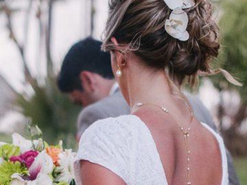 Colar invertido para noiva por Maria Ignez Simões