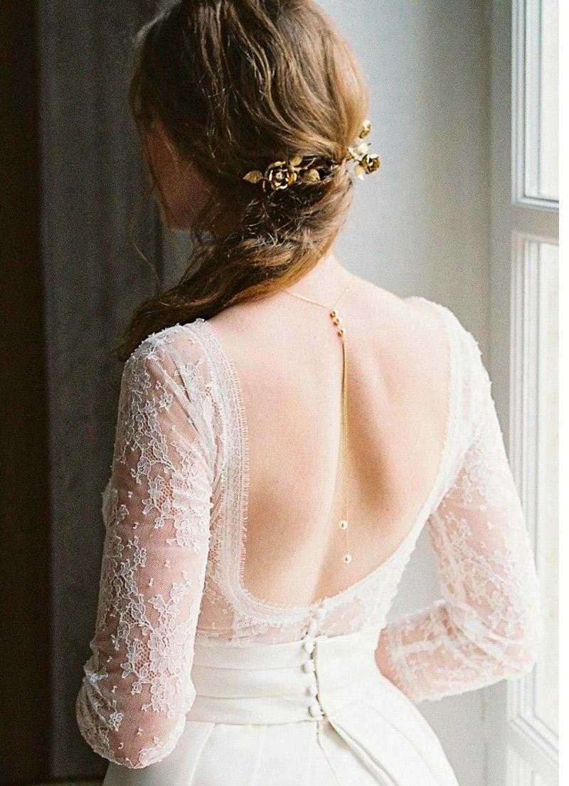 Colar invertido para noiva qual joia usar?