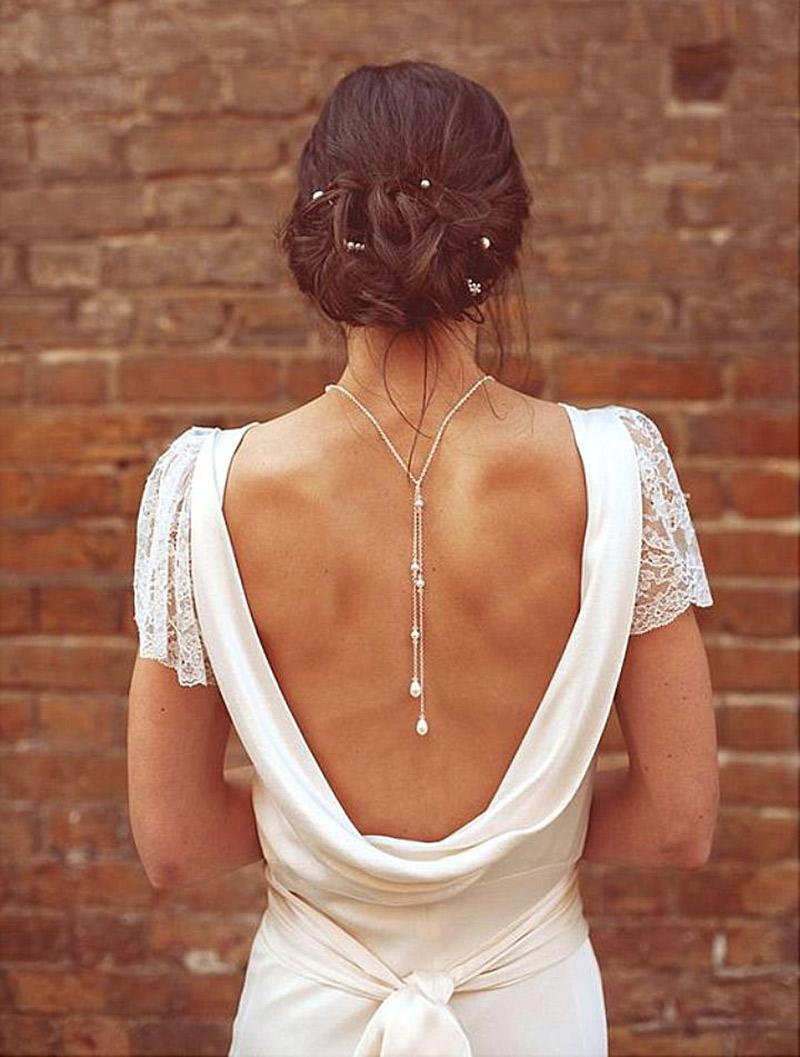 Colar invertido para noiva qual modelo usar?