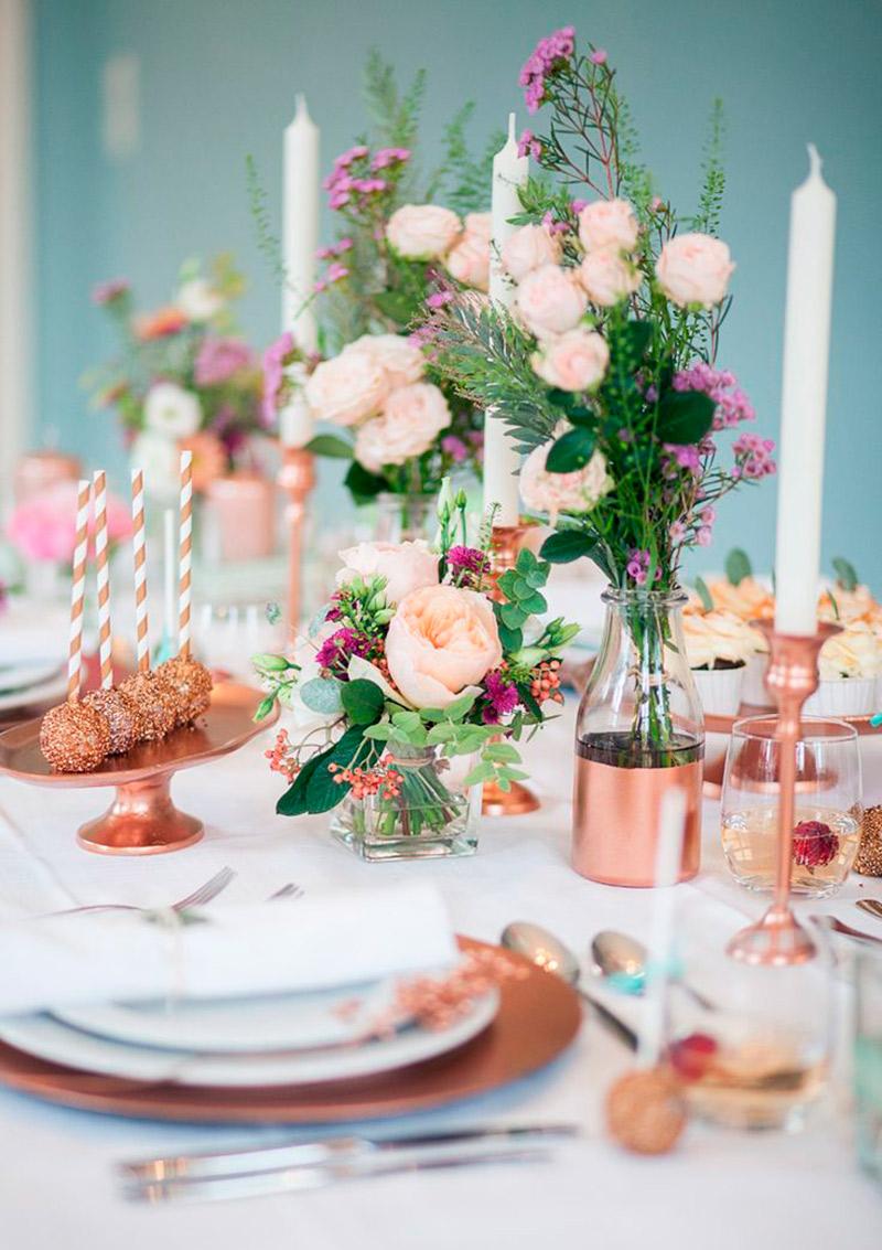 Como usar o Rose Gold para decorar a sua casa