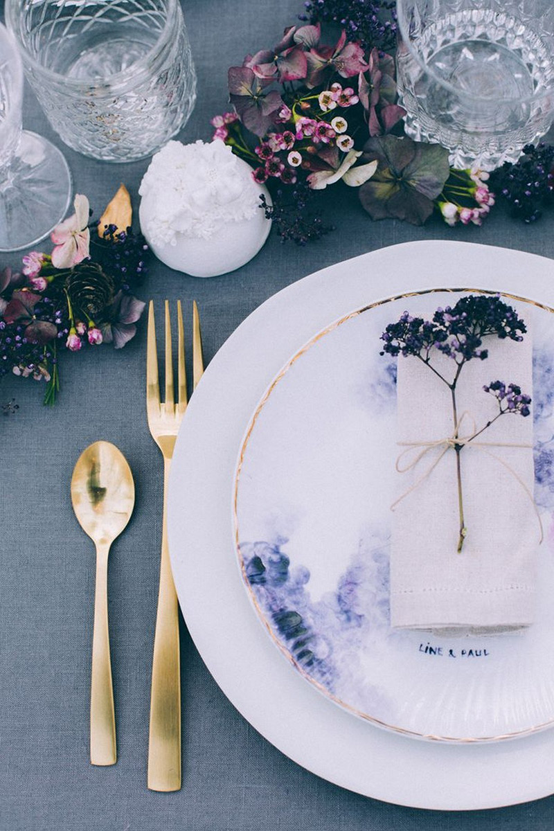 Decoração prata e cromado no casamento como usa