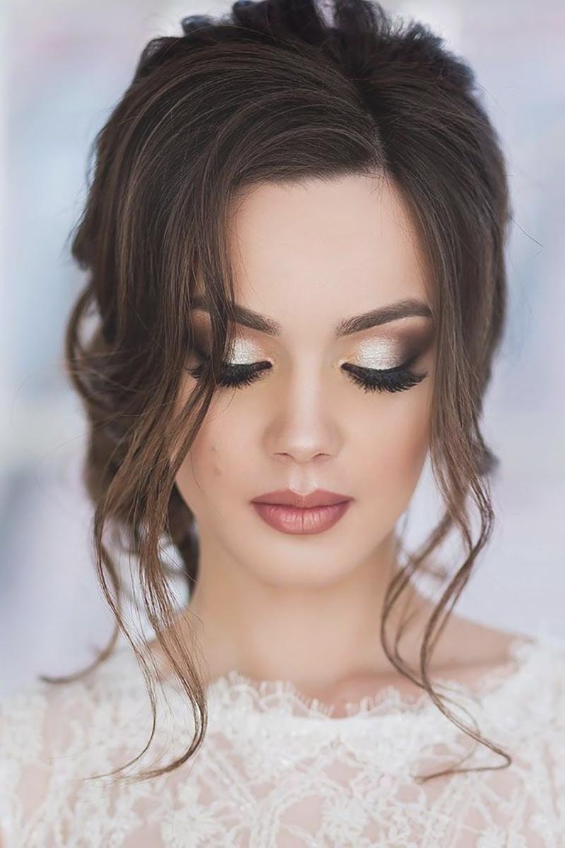 maquiagem para casamento à noite