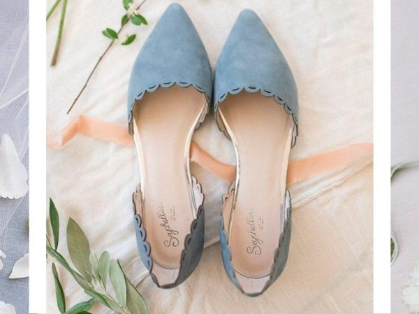 Sapato sem salto para noiva como para arrasar