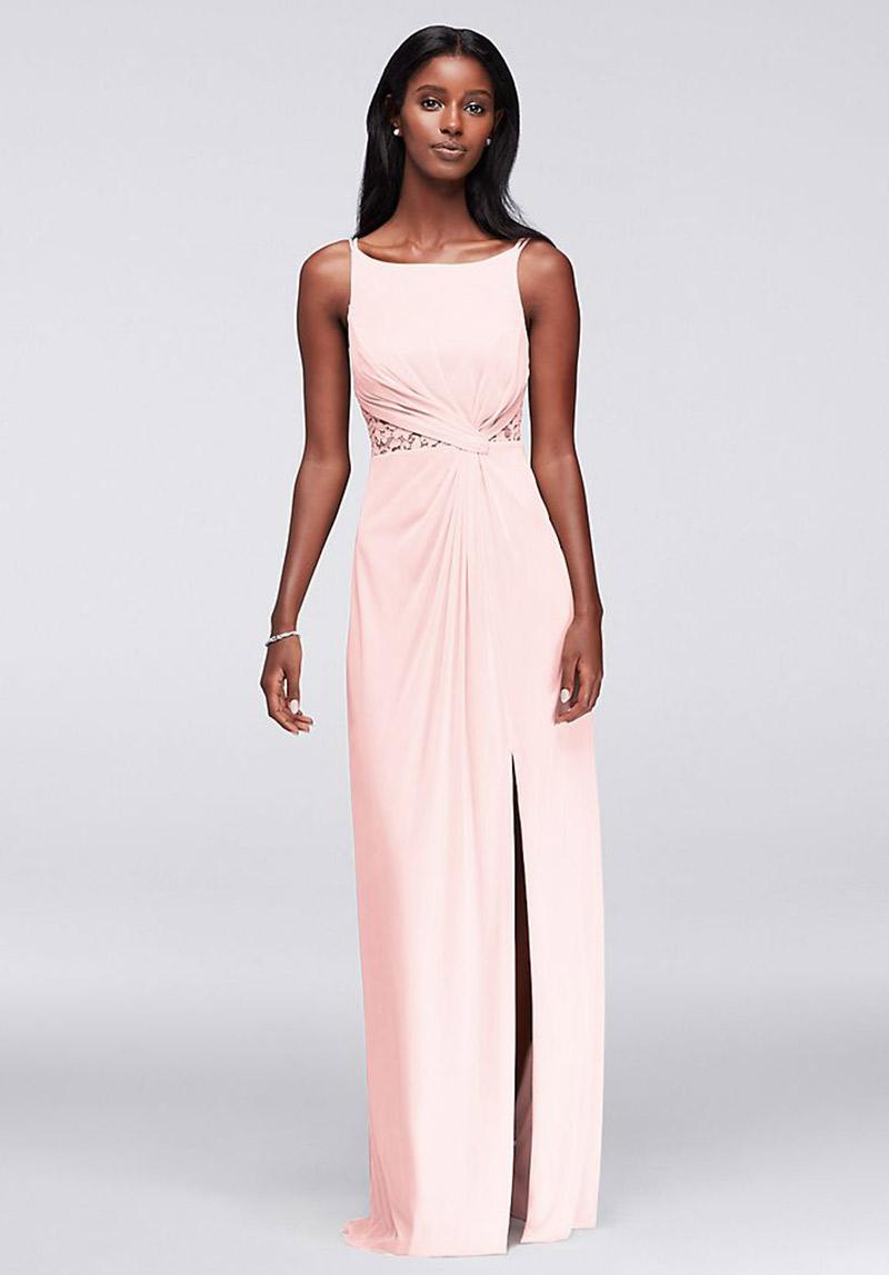 Vestidos de madrinha rosa claro para pele negra