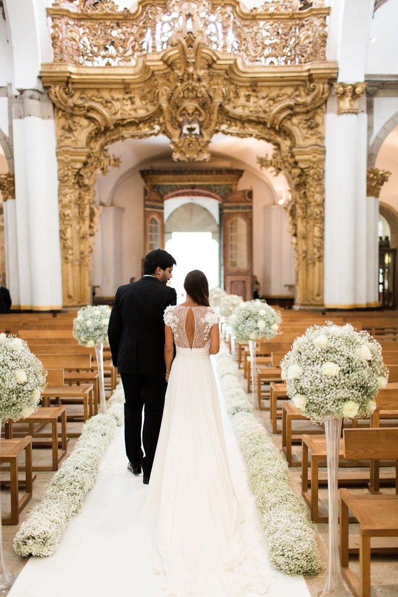 Decoraç u00e3o de igreja para casamento Inspirações e dicas -> Decoração Simples Para Festividade De Igreja Evangelica