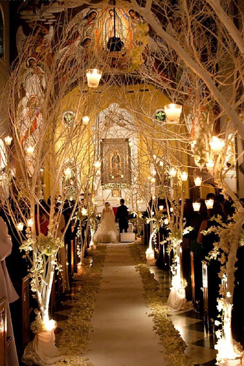 Decoraç u00e3o de igreja para casamento Inspirações e dicas -> Fotos Decoração De Igreja Para Casamento Simples