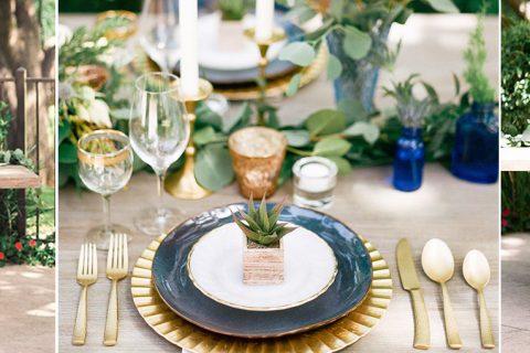 30 ideias para se inspirar e usar o azul marinho na decoração do casamento