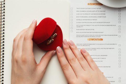 Check list casamento | Como organizar em 12 meses