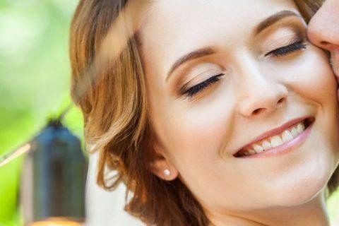 Maquiagem para noiva que realça a beleza natural