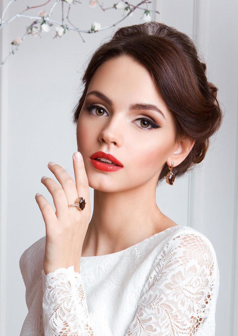 maquiagem para noivas morenas