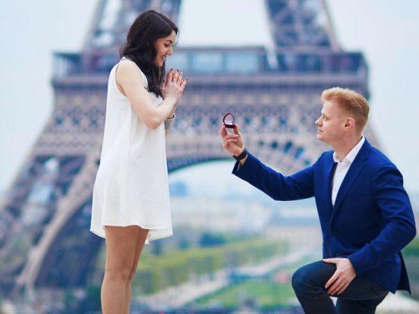 Pedido de casamento criativo