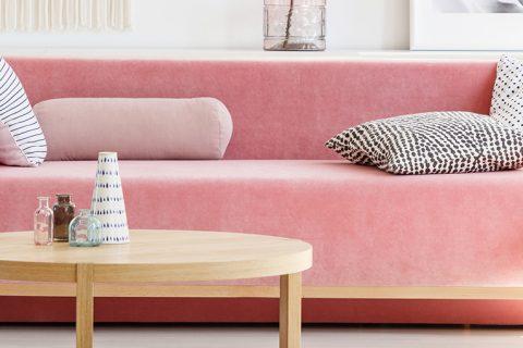 Rosa Millenial para decorar a casa | como combinar, onde usar e cuidados necessários