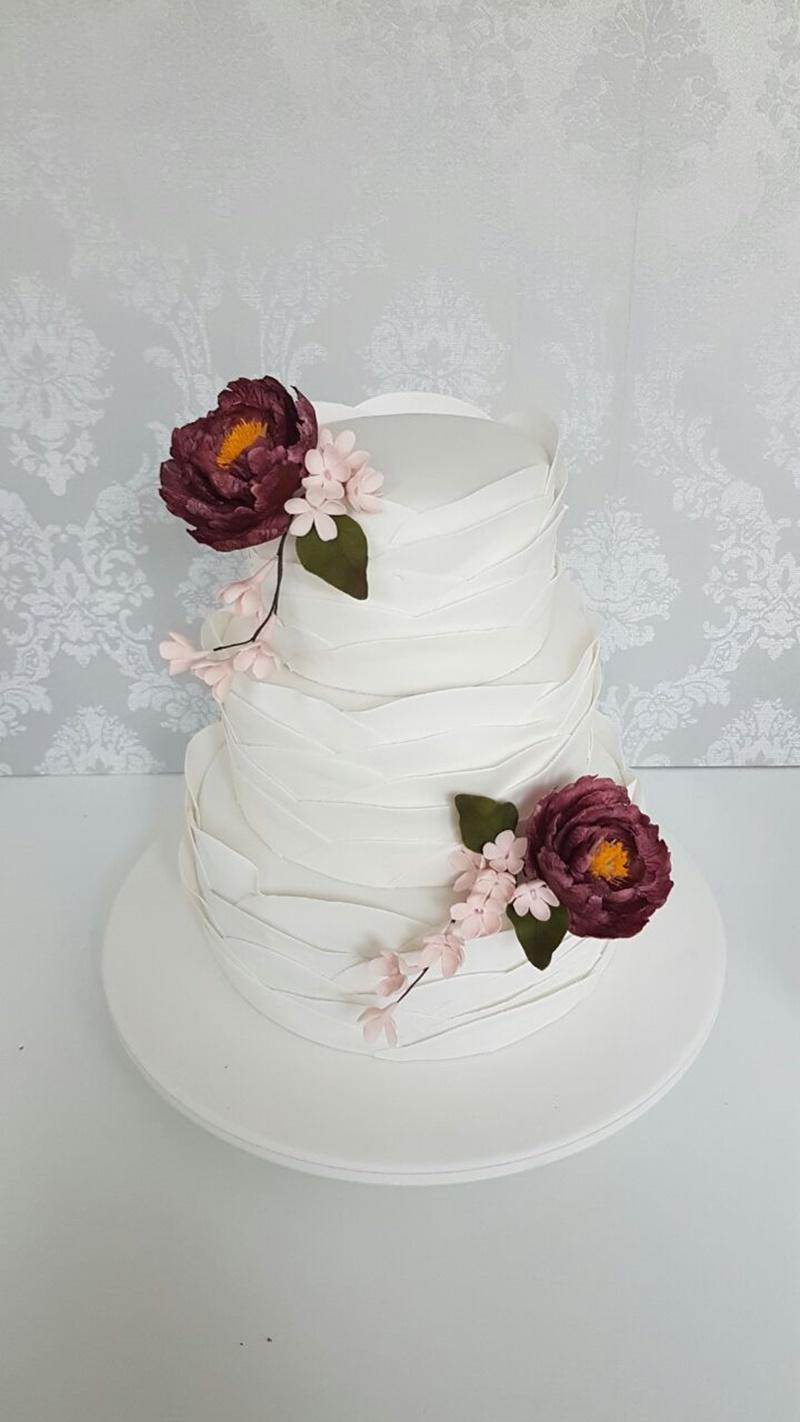Ruffled Cake para casamento