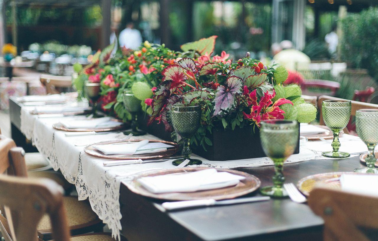 Decoração De Mesa De Casamento Dicas Para O Arranjo De Centro