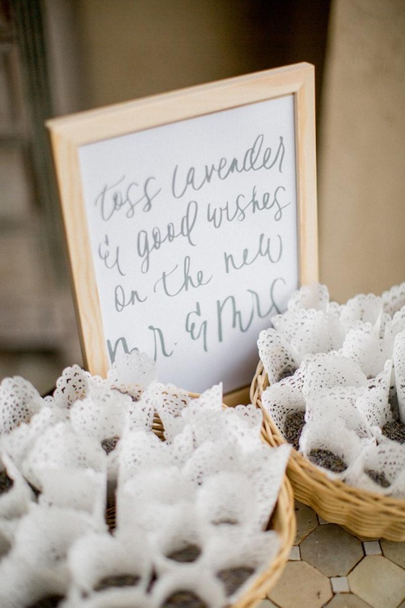 Ervas para jogar nos noivos na saída do casamento