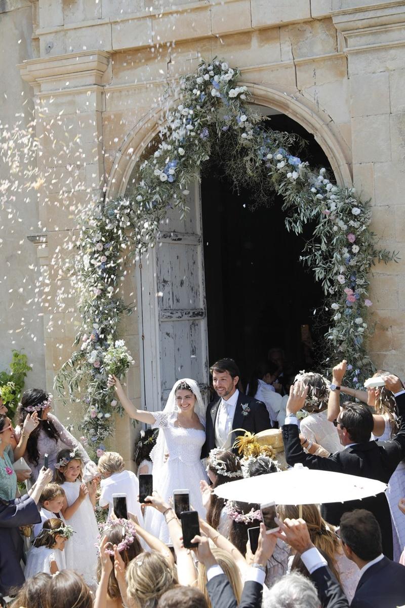 Opções para jogar nos noivos na saída do casamento