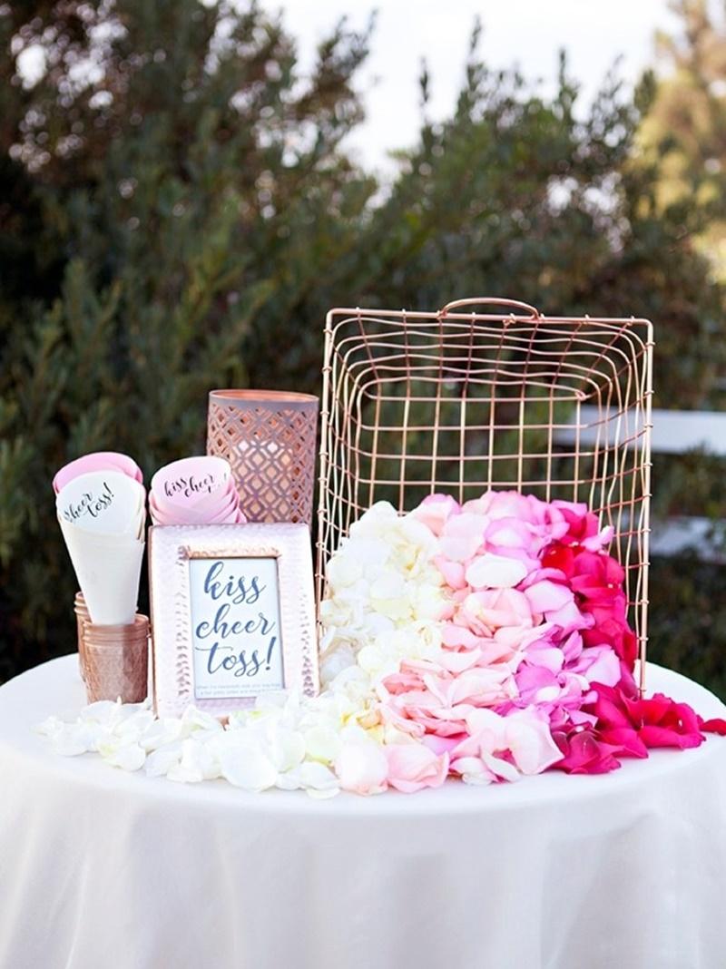 petalas de flores para jogar nos noivos