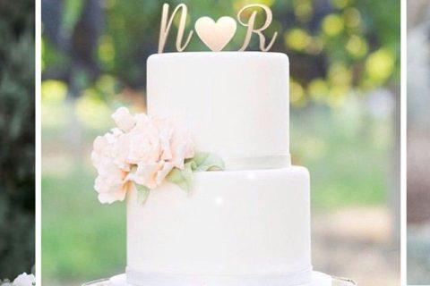 Topo de bolo de casamento | Como escolher o melhor modelo