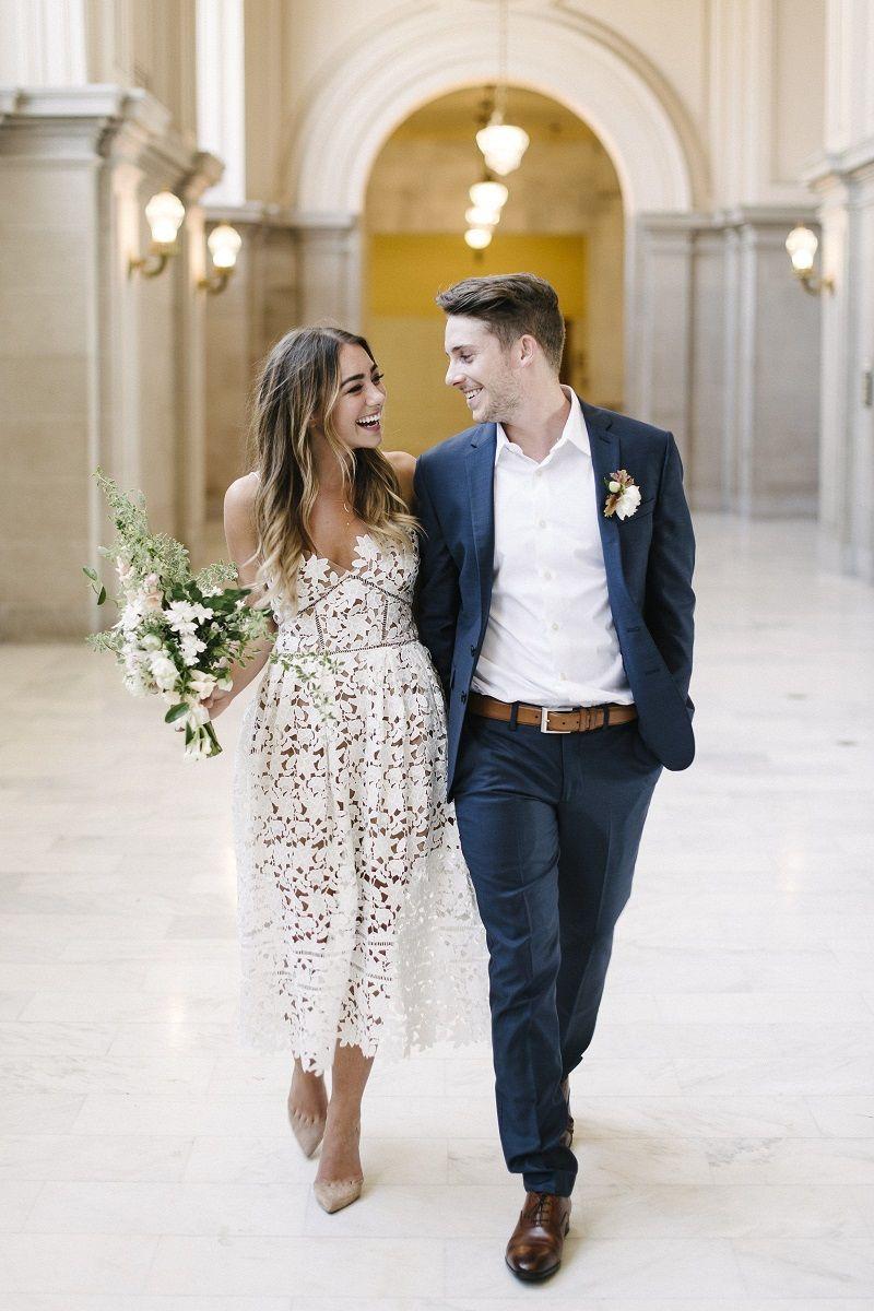 55537a66a Dicas para encontrar online o vestido para casamento civil no cartório