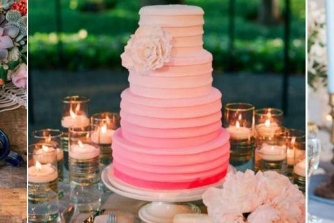 10 paletas de cores para casamento na primavera