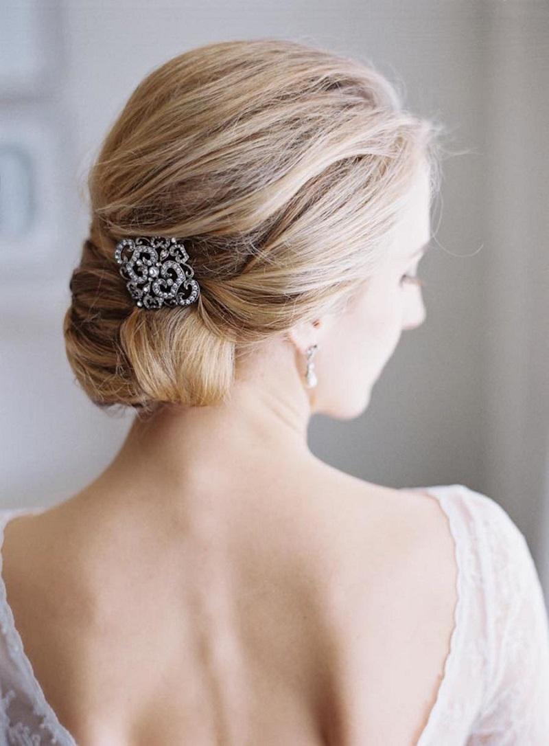 penteados para casamento para cabelo curto