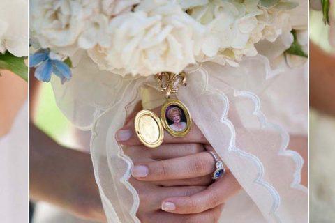 Relicário para buquê de noiva | Como usar a joia tão especial