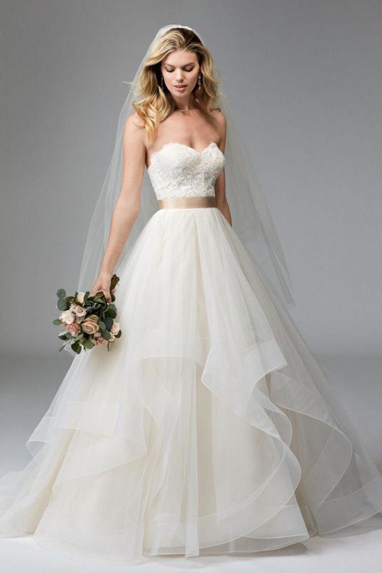 vestido de noiva tomara que caia