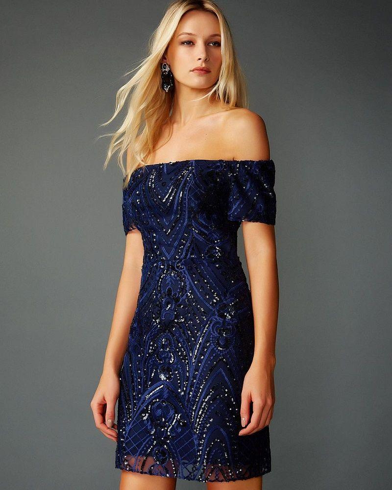cd5e066f91 vestido-de-festa-curto-azul-marinho-bordado