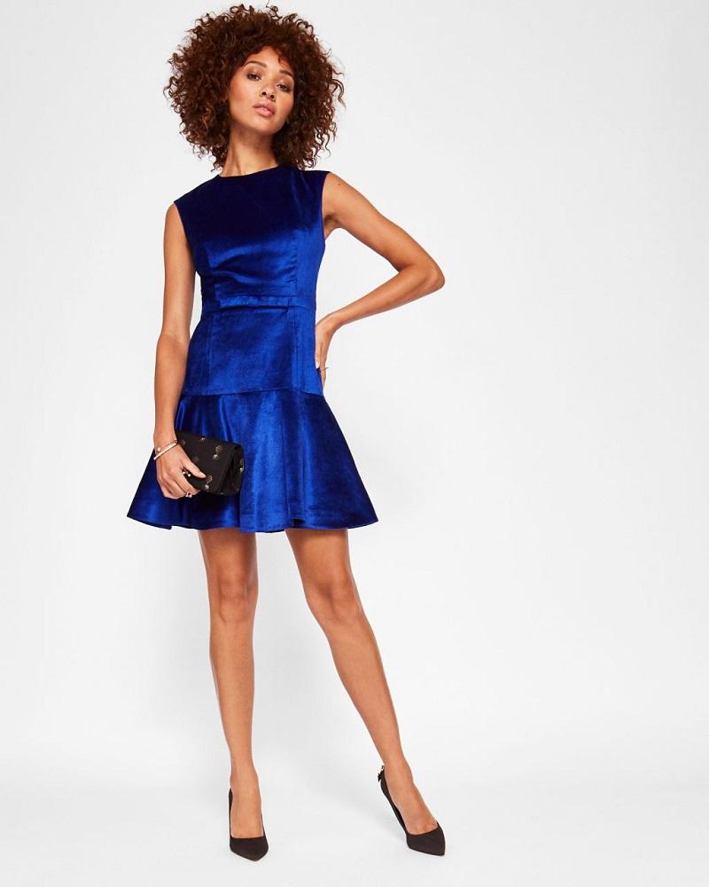 fa5d13bc42 vestido-de-festa-curto-de-veludo-azul