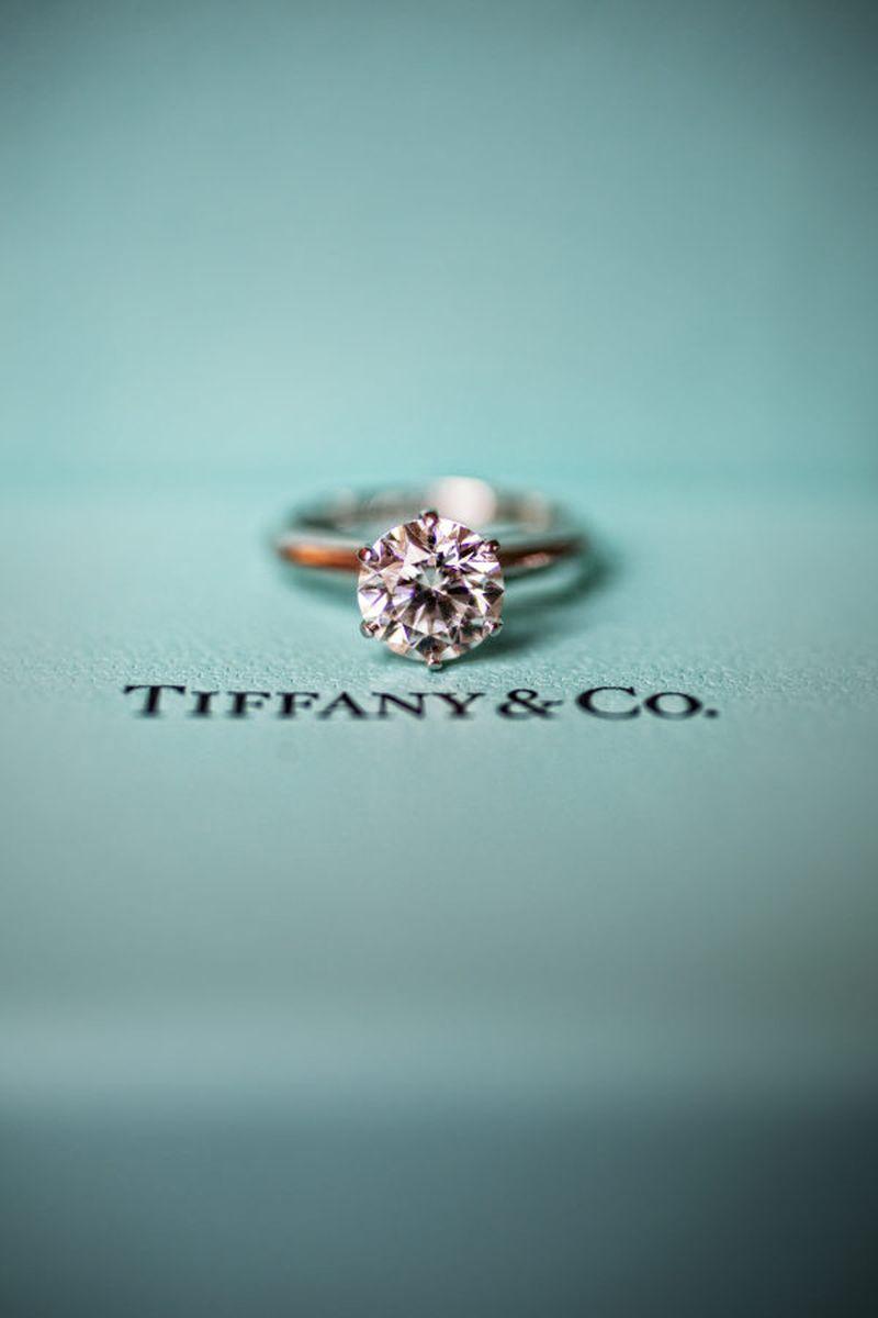 281281fa9401c Anel de noivado Tiffany