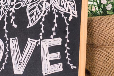Como usar chalkboard para casamento e incrementar a decoração