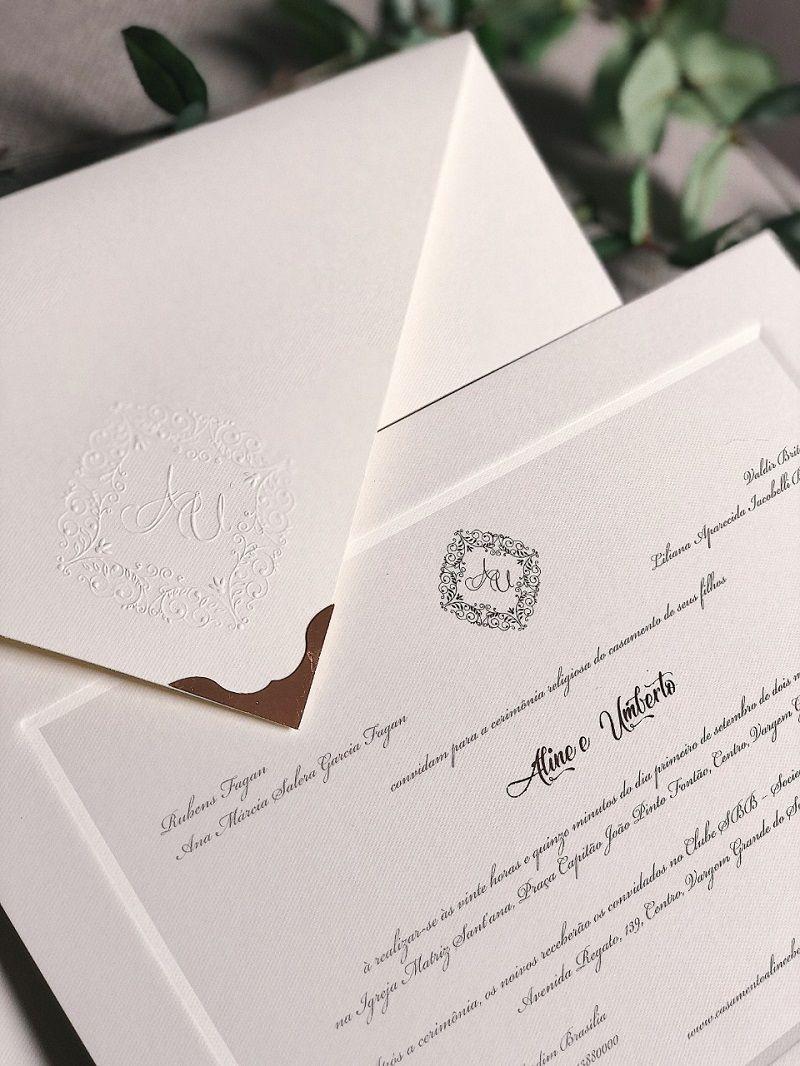 Convites De Casamento Clássicos Dicas Para Acertar Na Escolha