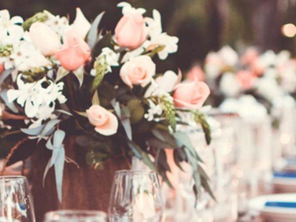 decoração de mesa de casamento