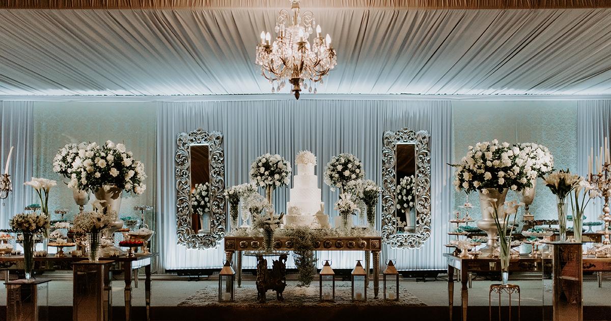 29d9008db4 Decoração para casamento clássico