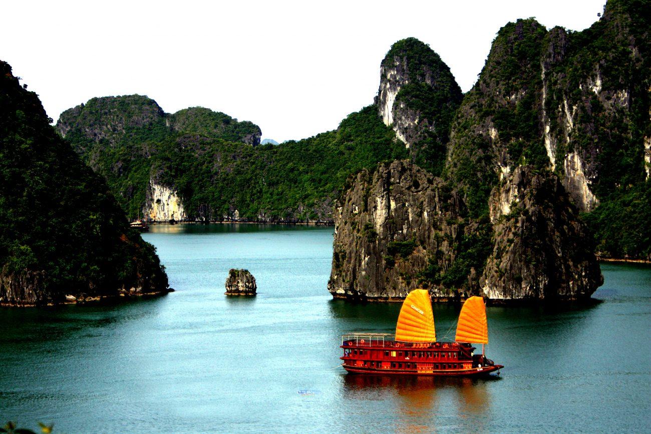 destinos exótico 3 halong bay