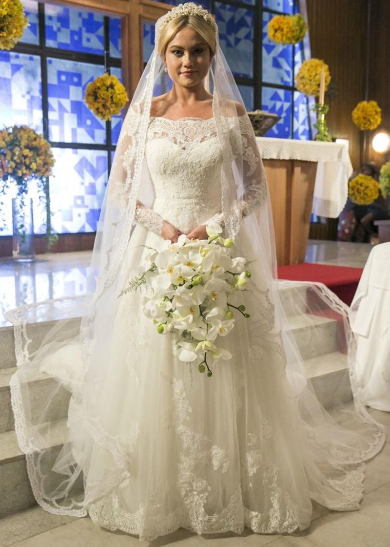 vestido de noiva ombro a ombro ellen roche novela pronovias