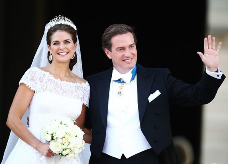 vestido de noiva ombro a ombro princesa madeleine suécia