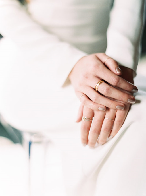 unhas para noivas