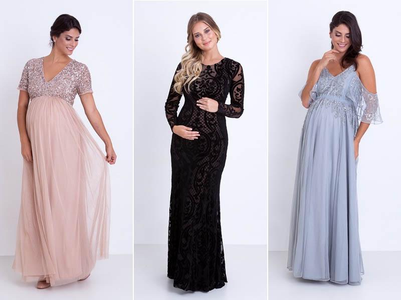 8d24ed256 Vestidos longos para casamento para grávidas | Madrinhas e Convidadas