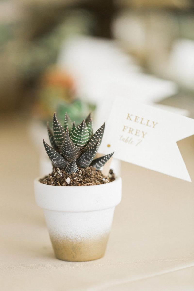 decoração de casamento sustentável