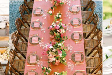 Decoração de casamento 2019 | Cores, flores e mais tendências