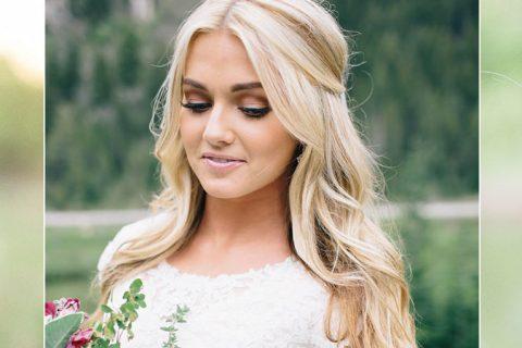 penteados para noivas loiras